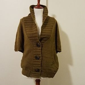 Old Navy army green cardigan sweater